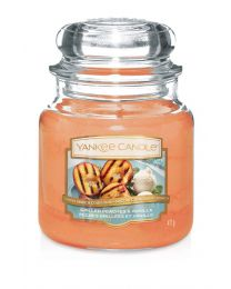 YANKEE CANDLE - GIARA MEDIA CLASSICA GRILLED PEACHES AND VANILLA